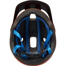 Cube CMPT Helm orange'n'blue